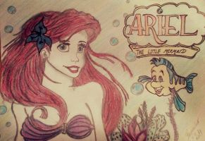 my today version of Ariel by artlady87