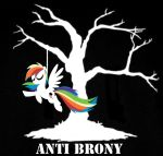 Anti Brony by Anaxandreah