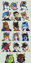 :: FA Icon Avatars :: by IvyBeth