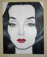 Morticia by bartelnathaniel