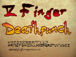 5 Finger Deathpunch by blackdahlia