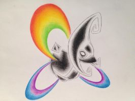 The Dark Side of the Cresselia by AlexisRendell