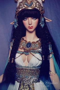 Satis - egyptian goddess by amadiz