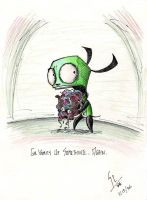 GIR Vomits Up Something Again by WNoisePollution