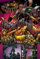 Joe Mad Battle Chasers Sample Colors by NateJ25