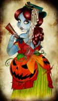 HUNTED MANSION: SALLY by selene-nightmare69