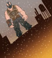 The Dark Knight Rises: BANE. by scootah91