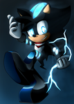 THAT GUY WITH THE ZIP ZAPS by Tesla-That-Hedgehog