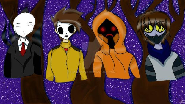 The Proxies fanart Creepypasta  by Magickyg