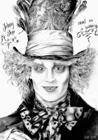 Johnny Depp - Mad hatter by Mizz-Depp