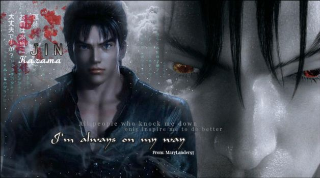 Jin Kazama (gift for Ketii) by MaryLander97