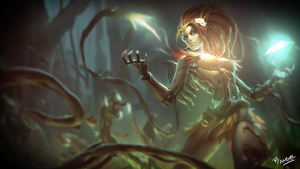 Haunted Zyra Wallpaper by deadSerious by magoshadow