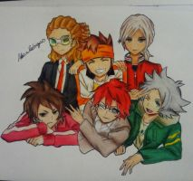 The Inazuma Legend Japan (finished) by AlexiaRodrigues