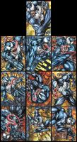 VENOM PERSONAL SKETCH CARDS by AHochrein2010