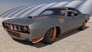 1971 Plymouth Cuda 426 by SamCurry