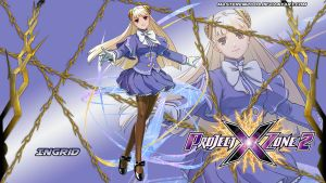 Project X Zone 2 wallpaper - Ingrid by MasterEni2009