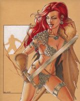 Red Sonja by Dangerous-Beauty778