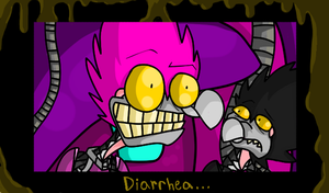 Diarrhea.. by InvaderTraditore