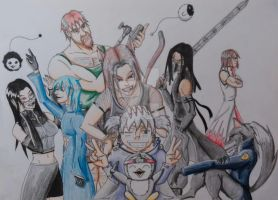 Group Shot by Irving-Comics