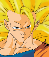 Goku Super Saiyan 3 by The-Lonely-Wolf