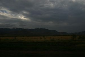cloudy day on the road by pablour026