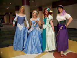 Megacon 2010- Disney Gals by Fruits-Punch-Samurai