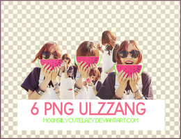 PACK 6 PNGs ULZZANG by mo0nsiilycutelazy