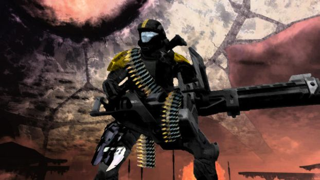 ODST Heavy Weapons by Gazas