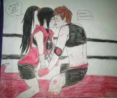 Sparring with my darling early.~ by XxLoveless-KunxX