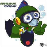 BubbleMan Powered Up by Ageman20XX
