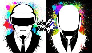 Daft Punk tribute reverse version by dags88crusader