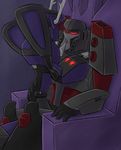 TFA - ShockaTron - Throne by Rosey-Raven