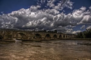 Bridge over troubled water by Ditze