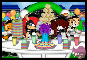 CE: Maid Garden Party by CCgonzo12