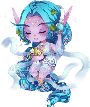 C: Penguinberryy by LaDollBlanche