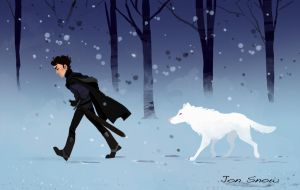 Game of Thrones: Jon Snow by TwiggyMcBones