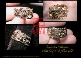 Barbarian Coll. - Wolf Ring by somk