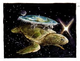 The Great A'Tuin by Pythosblaze