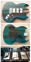 Gibson SG Triple Humbuckers by Fusillade-Design