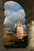 Evening in Moscow. November. by Nickdan
