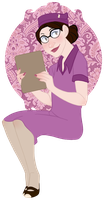 Miss Pauling by goldfishoevil