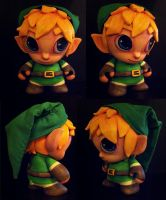 Link Custom Munny by berf