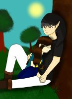me and dark remake by 11newells