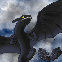 The Night Fury by CavySpirit