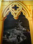 Sleepy Hollow / gothic mural (detail) by Ejderha-Arts