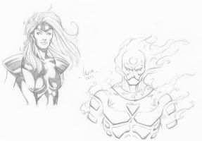 Random character sketches 11 by RV1994
