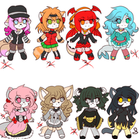 Points Adoptables set 5 -closed- by Anini-Chu