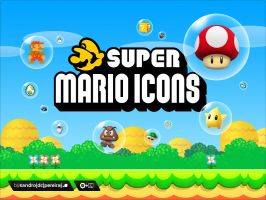 Super Mario Icons for Mac by sandrodcpereira