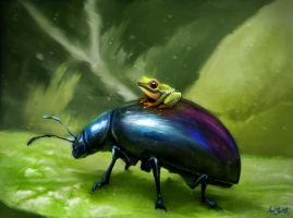 Frog by adlovett