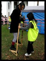 Japan Festival Stilts - Maggie by Lilithia